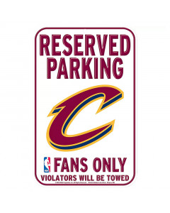 "Cleveland Cavaliers ""Reserved Parking"" tabla"
