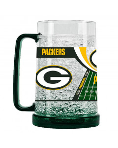 Green Bay Packers Crystal Freezer krigla 475 ml