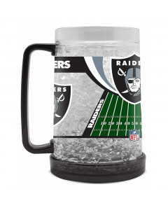 Las Vegas Raiders Crystal Freezer Krug 475 ml