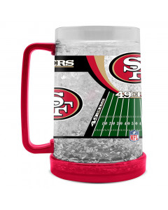 San Francisco 49ers Crystal Freezer vrč 475 ml
