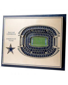 Dallas Cowboys 3D Stadium View Bild