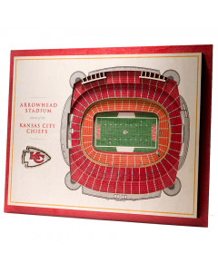 Kansas City Chiefs 3D Stadium View Bild