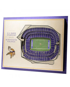 Minnesota Vikings 3D Stadium View Bild