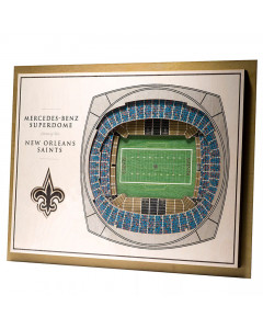 New Orleans Saints 3D Stadium View slika