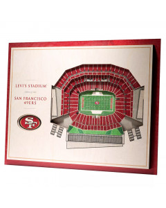 San Francisco 49ers 3D Stadium View Bild