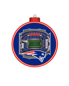 New England Patriots 3D Stadium View Ornament