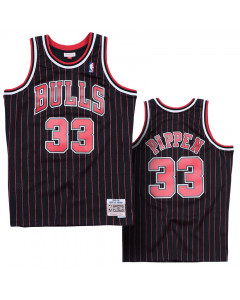 Scottie Pippen 33 Chicago Bulls 1995-96 Mitchell & Ness Swingman Alternate dres