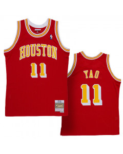 Yao Ming 11 Houston Rockets 2004-05 Mitchell & Ness Swingman dres