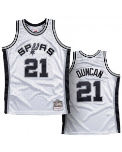 Tim Duncan 21 San Antonio Spurs 1998-99 Mitchell & Ness Swingman dres