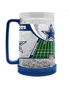 Dallas Cowboys Crystal Freezer krigla 475 ml