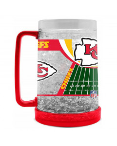 Kansas City Chiefs Crystal Freezer vrč 475 ml