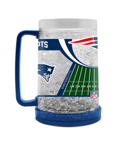 New England Patriots Crystal Freezer krigla 475 ml