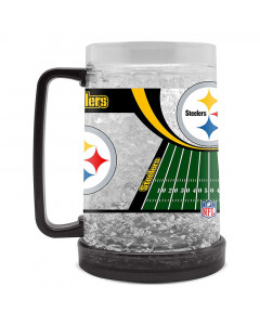 Pittsburgh Steelers Crystal Freezer Krug 475 ml