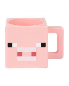 Minecraft Jinx Pig Face plastična skodelica
