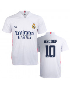 Real Madrid Home Replica Trikot (Druck nach Wahl +12,3€)