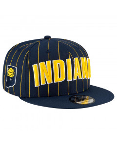 Indiana Pacers New Era 9FIFTY 2020 City Series Official Mütze