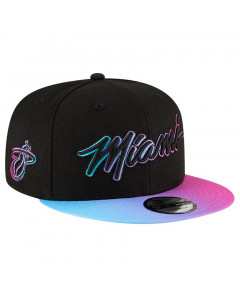 Miami Heat New Era 9FIFTY 2020 City Series Official kapa
