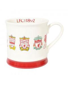 Liverpool Retro Crest Tasse