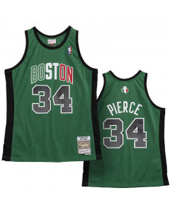Paul Pierce 34 Boston Celtics 2007-08 Mitchell & Ness Swingman Away dres