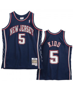 Jason Kidd 5 New Jersey Nets 2006-07 Mitchell & Ness Swingman dres