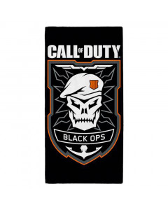 Call of Duty Black Ops Emblem Badetuch 140x70