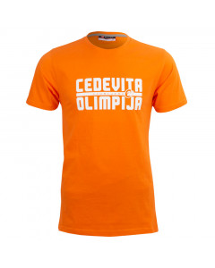 KK Cedevita Olimpija T-Shirt Orange