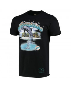 Miami Dolphins Mitchell & Ness Animal T-Shirt