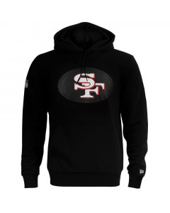 San Francisco 49ers New Era QT Outline Graphic Kapuzenpullover Hoody