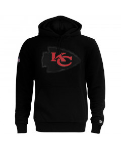 Kansas City Chiefs New Era QT Outline Graphic Kapuzenpullover Hoody