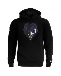 Baltimor Ravens New Era QT Outline Graphic pulover s kapuco