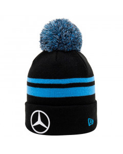 Mercedes-Benz EQ Formula E Team New Era Replica Bobble Wintermütze