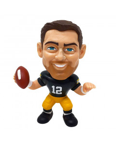 Aaron Rodgers 12 Green Bay Packers Big Shot Ballers Figur