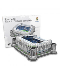 Real Madrid Santiago Bernabeu 3D Stadium puzzle