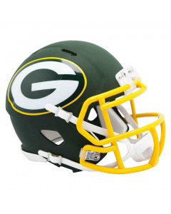 Green Bay Packers Riddell AMP Speed Mini Helm