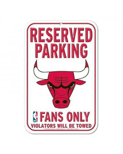 "Chicago Bulls tabla ""Reserved Parking"""