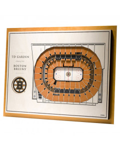 Boston Bruins 3D Stadium View Bild