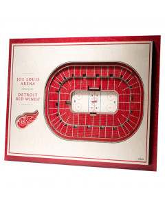 Detroit Red Wings 3D Stadium View Bild