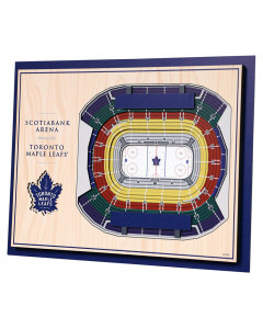 Toronto Maple Leafs 3D Stadium View Bild