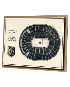 Vegas Golden Knights 3D Stadium View Bild
