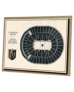 Vegas Golden Knights 3D Stadium View slika