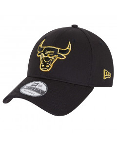 Chicago Bulls New Era 9FORTY Metallic Logo kapa
