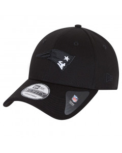New England Patriot New Era 9FORTY Black Base Mütze