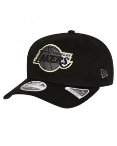Los Angeles Lakers New Era 9FIFTY Neon Pop Outline Stretch Snap Mütze
