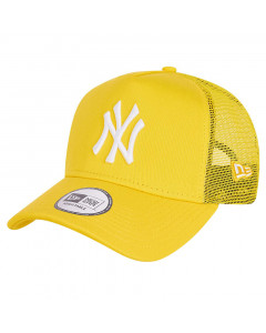 New York Yankees New Era Tonal Mesh Trucker A-Frame Yellow kapa