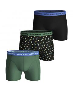 Björn Borg Lemonsplash Essential 3x Boxershorts
