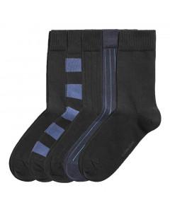 Björn Borg Block Stripe & DN Stripe 5x Socken