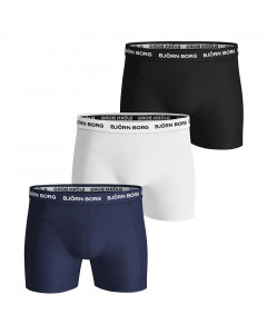 Björn Borg Solid Essential 3x Boxershorts