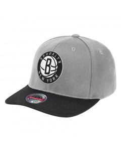 Brooklyn Nets Mitchell & Ness Wool 2 Tone Redline Mütze
