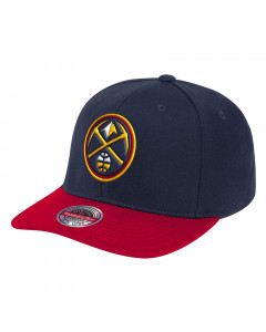 Denver Nuggets Mitchell & Ness Wool 2 Tone Redline kapa