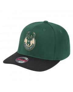 Milwaukee Bucks Mitchell & Ness Wool 2 Tone Redline kapa